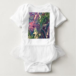 Body Para Bebê Arte topográfica IV do lenço de papel