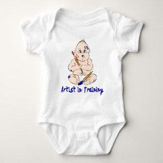 Body Para Bebê Artista em treinar Onesy para o bebê