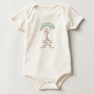 Body Para Bebê Árvore da reunião de família