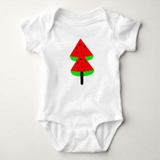 Body Para Bebê árvore de fruta da melancia