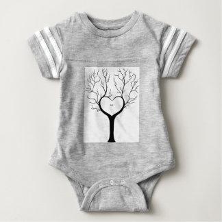 Body Para Bebê Árvore de Thumbprint