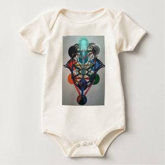 Body Para Bebê Árvore de vida de incandescência