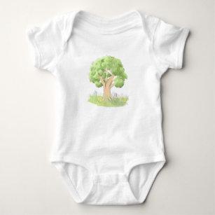 Body Para Bebê Árvore do conto de fadas