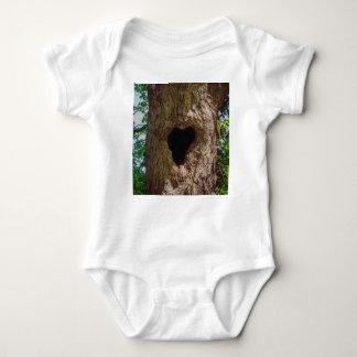 Body Para Bebê Árvore do coração