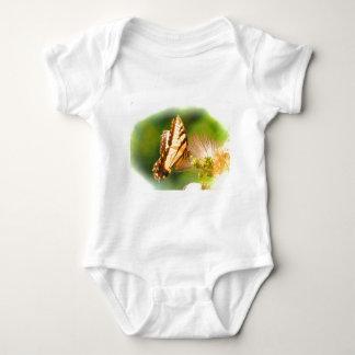 Body Para Bebê árvore do mimosa da borboleta