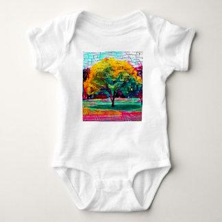 Body Para Bebê Árvore do outono em cores vívidas
