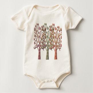 Body Para Bebê Árvores mágicas do outono