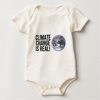 Body Para Bebê As alterações climáticas são reais! Mundo da terra