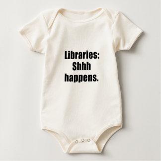 Body Para Bebê As bibliotecas Shhh acontecem