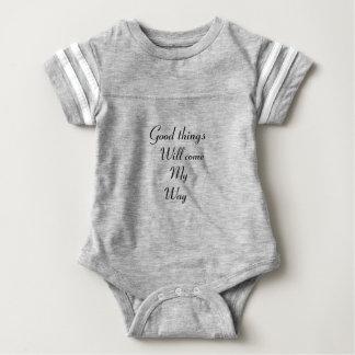 Body Para Bebê As boas coisas virão minha maneira