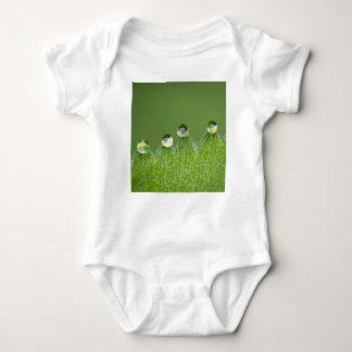 Body Para Bebê As gotas da água da natureza conectam com o
