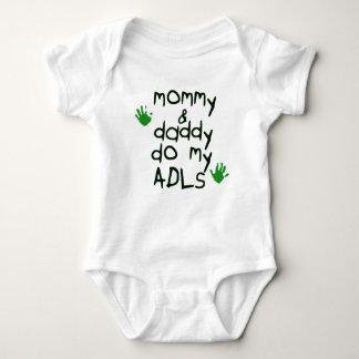 Body Para Bebê As mamães & o pai fazem meu bebê verde do