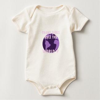 Body Para Bebê As meninas do transporte ordenam o mundo (v1)