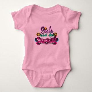 Body Para Bebê As meninas podem fazer qualquer coisa