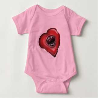 Body Para Bebê As mordidas de amor suportam