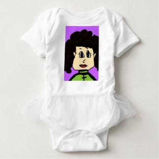 Body Para Bebê as mulheres com cabelo preto