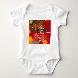 Body Para Bebê As notas transformam-se uma canção