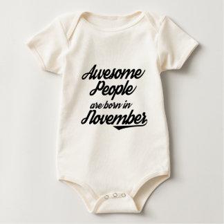 Body Para Bebê As pessoas impressionantes são nascidas em