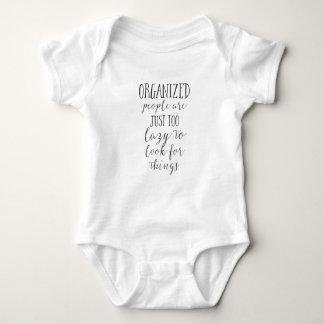 Body Para Bebê as pessoas organizadas são apenas demasiado