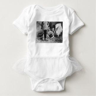 Body Para Bebê As quedas do cavaleiro branco