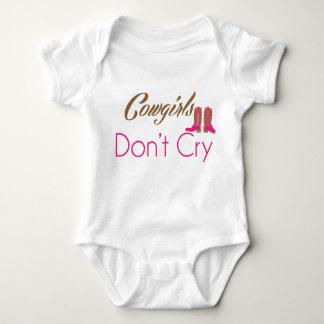 Body Para Bebê As vaqueiras não gritam roupa infantil