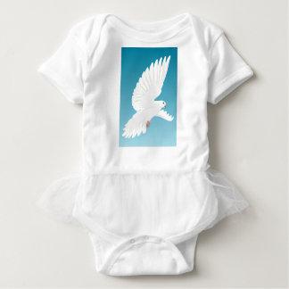Body Para Bebê Asa do animal da natureza da pena de pássaros do