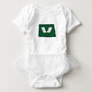 Body Para Bebê Asas resistentes de Norht Dakota