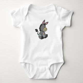 Body Para Bebê Asno customizável do bebê
