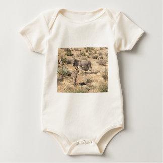 Body Para Bebê Asno vermelho do nanovolt do parque estadual da