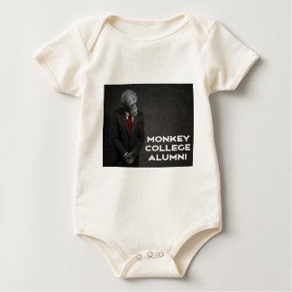 Body Para Bebê Associação de alunos da faculdade do macaco