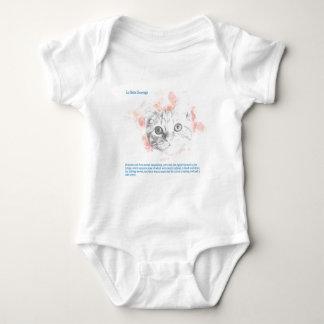 Body Para Bebê Asta - demónio de Malcolm de seus materiais