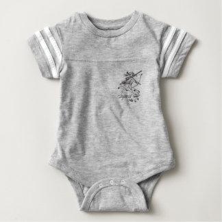 Body Para Bebê Astrologia da caída do zodíaco da roupa do bebê do