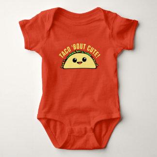 Body Para Bebê Ataque do Taco bonito