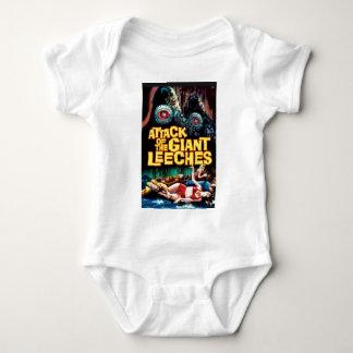 Body Para Bebê Ataque dos Leeches gigantes