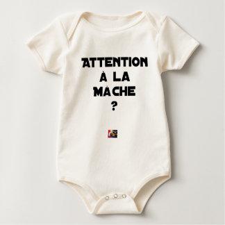 Body Para Bebê ATENÇÃO À ERVA- R? - Jogos de palavras