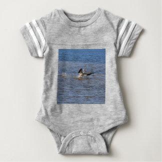 Body Para Bebê Aterragem do pelicano