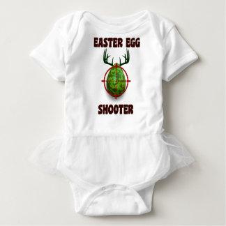 Body Para Bebê atirador do ovo da páscoa, desgin engraçado do