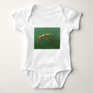 Body Para Bebê Atração vermelha da pesca do ponto