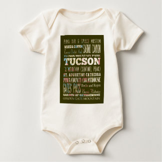 Body Para Bebê Atrações e lugares famosos de Tucson, arizona