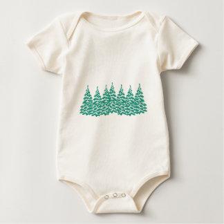 Body Para Bebê Através das madeiras