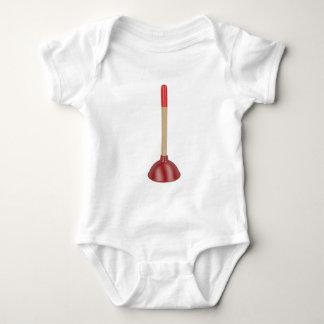 Body Para Bebê Atuador vermelho