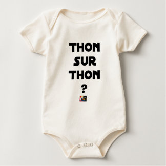 Body Para Bebê ATUM SOBRE ATUM - Jogos de palavras - François