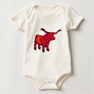Body Para Bebê Aumente o animal