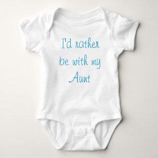 Body Para Bebê Auntie Amor