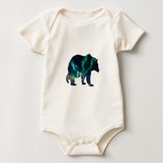 Body Para Bebê Aurora boreal