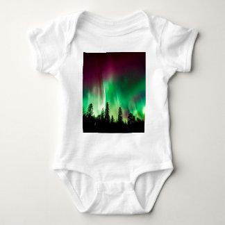 Body Para Bebê Aurora boreal dos borealis da Aurora