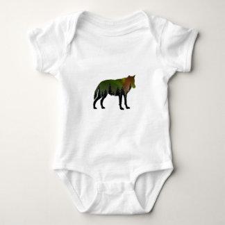 Body Para Bebê Aurora Borealis