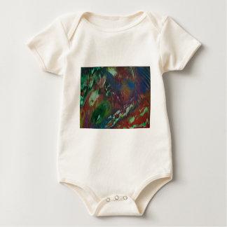 Body Para Bebê Aurora cósmica