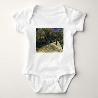Body Para Bebê Avenida com as árvores de castanha em Arles - Van