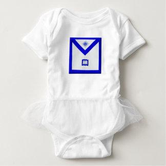 Body Para Bebê Avental do capelão dos pedreiro